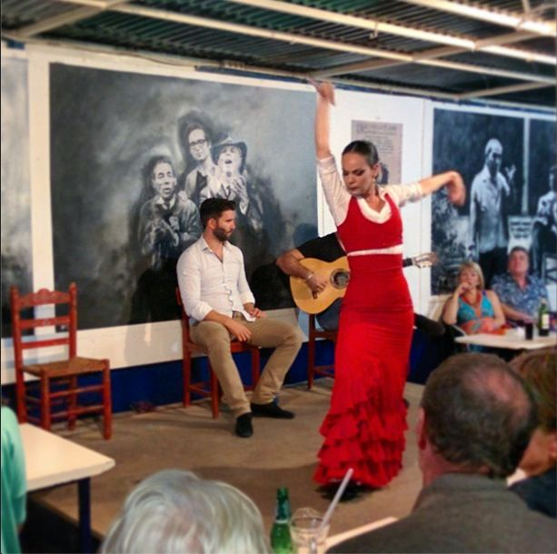 A live Flamenco show in Seville. This is a complete cultural experience for #TravelMonk.