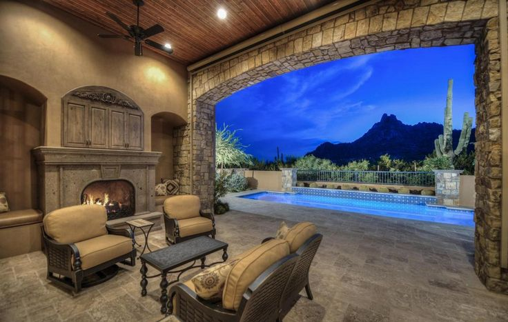 14 best images about outdoor fireplaces on pinterest Luxury fireplaces luxury homes