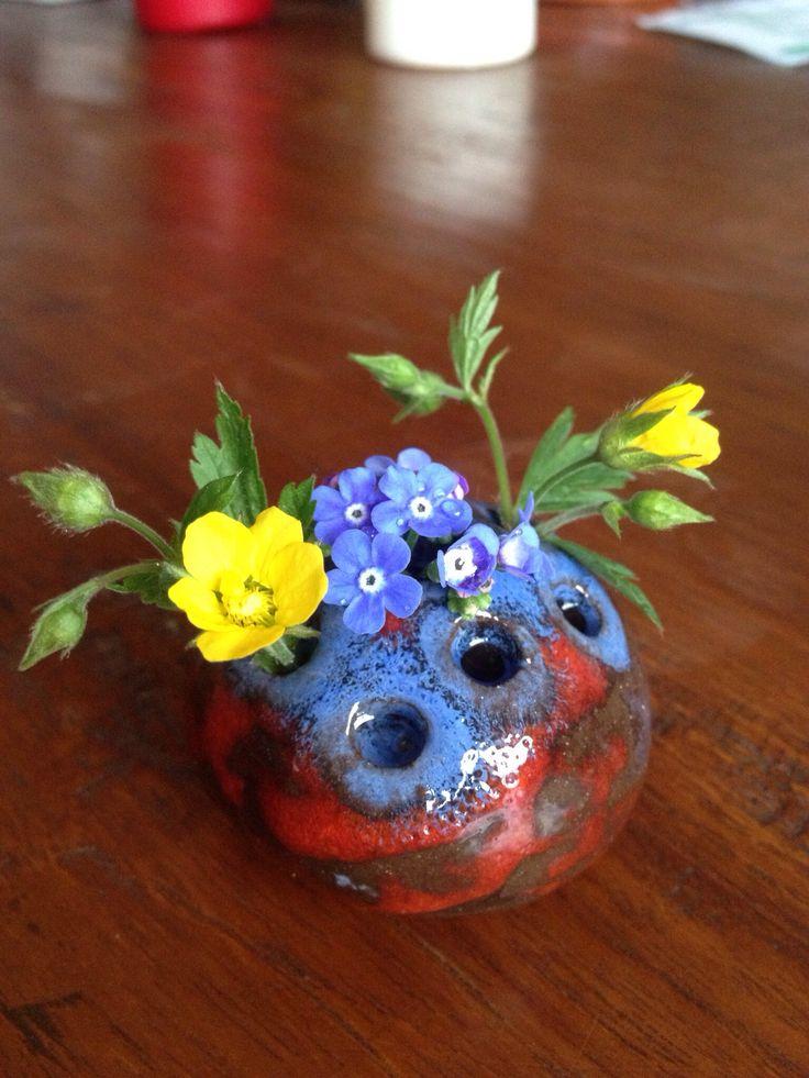 Vase - Sommer 2013 - Keramik - ceramic - Ton - getöpfert - Pottery