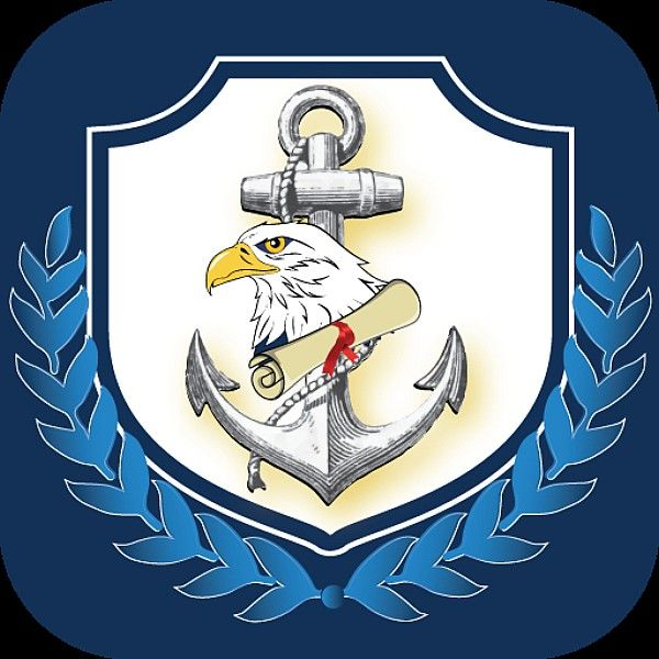 Icon for the Navy Records Management GMT mobile app.