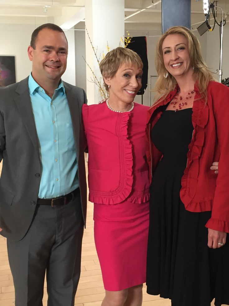 Chad Madlom, Owner, Barbara Corcoran, and Christie Griffin, Director of Sales Operations