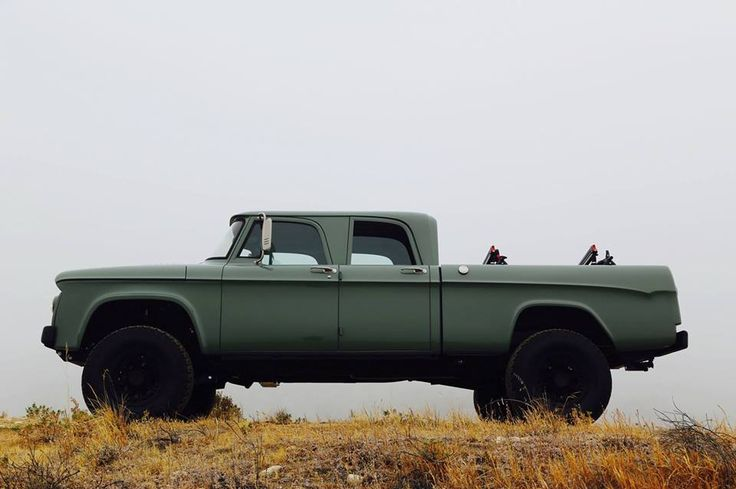 '63 Dodge POWER Wagon crew cab