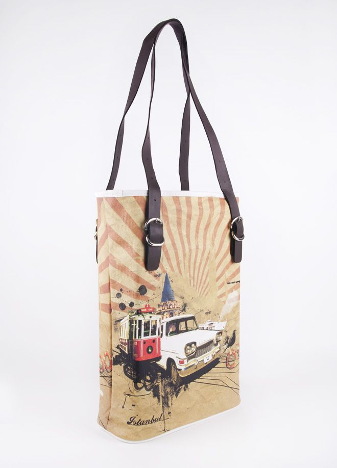 Dogo Store - Bag > Tall Bag > İstanbul Retro