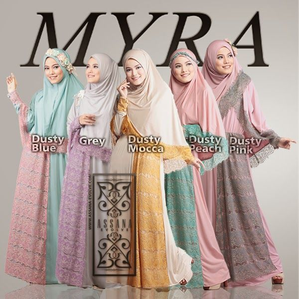 #moslem #hijab #fashion #assana #myra #assanaevolve #dress  #jilbab #women #pashmina  #brocade #lace #2015