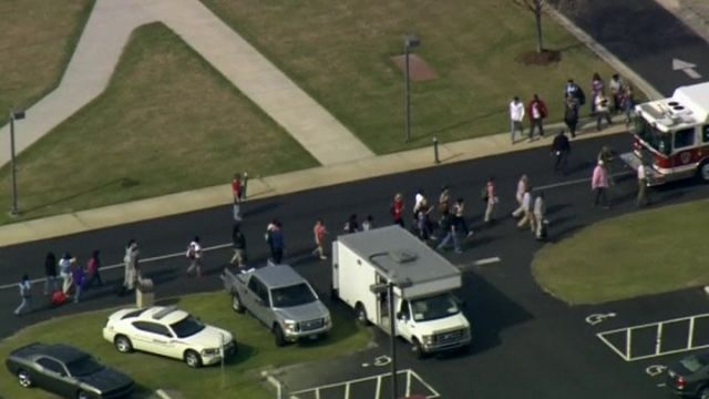 Shooting death at North Carolina community college
