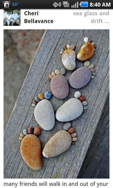 Sea Glass & Drift Wood...fun project to do with the Granddaughter :)