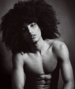 Natural hair men....