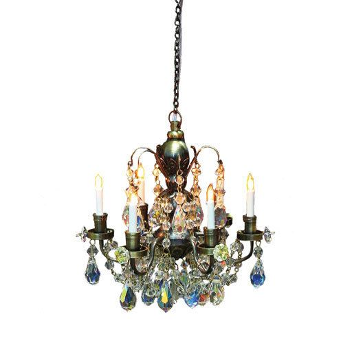 Dollhouse Chandelier Tutorial: 10 Best Images About Victorian Chandeliers On Pinterest