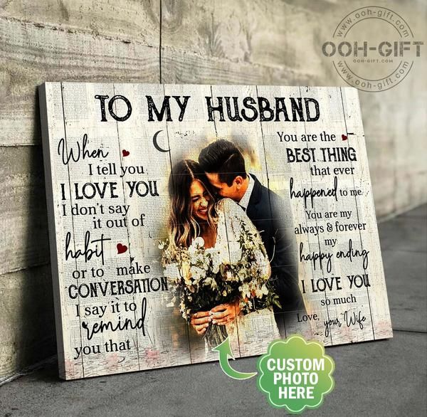 Ooh Gift Custom Prints On Canvas Custom Canvas For Husband And Wife Personalized Canvas Custom Paint By Number Canvas League Anniversary Gifts Custom Canvas Photo Collage Canvas Personalised Canvas