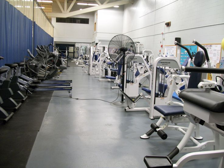 The Unh Employee Fitness Program Efp Is Housed In The Field House Overlooking The Main Gym Floor On The Unh Du Gym Flooring Fitness Training Workout Programs