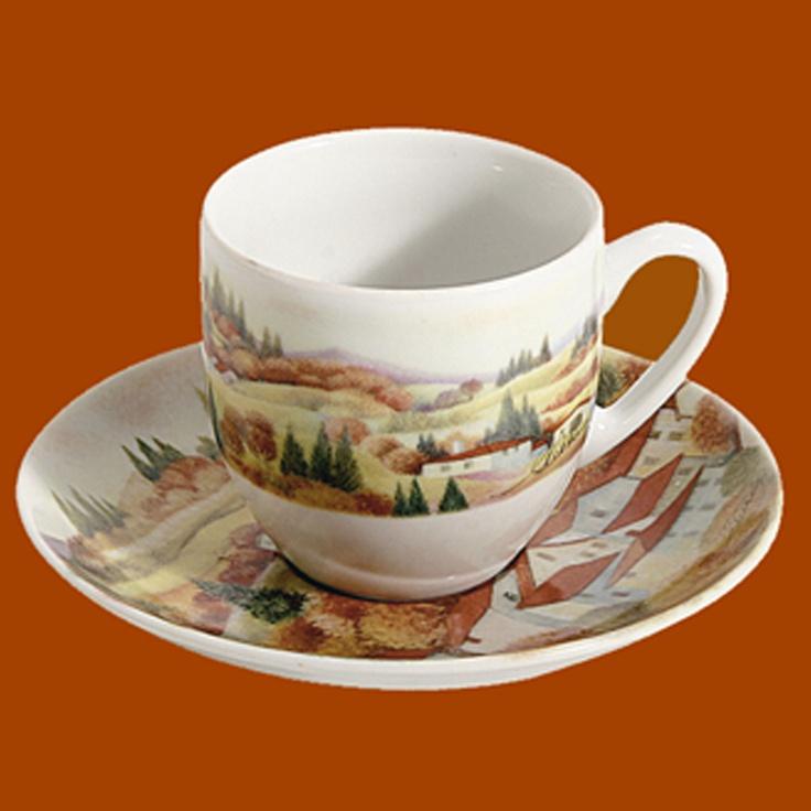 Espresso Coffee Cup | Autumn