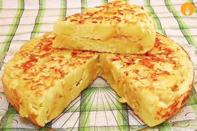 Cómo hacer la tortilla de patatas perfecta | Recetas de Cocina Casera - Recetas…