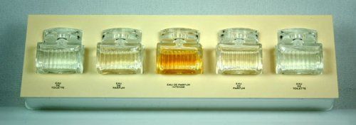 Chloe Signature Mini Set for Women (2.5 Ml Eau de Toilette, 2.5 Ml Eau de Parfum, 1.5 Ml Eau de Parfum Intense) by Chloe. $42.99. GIFT SET - 5 pieces: 2X 5ML 0.17OZ EDT / 2X 5ML 0.17 EDP / 5ML 0.17OZ EDP INTENSE. New in Retail Box (NOT Tester). Gift Set with 5 pieces: 2X 5ML 0.17OZ EDT / 2X 5ML 0.17 EDP / 5ML 0.17OZ EDP INTENSE