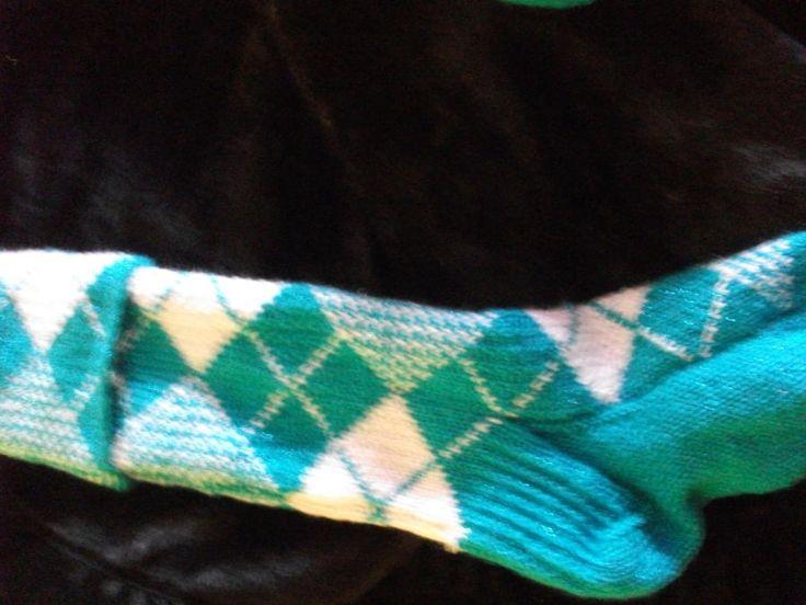 Swarvoski Thread Kilt Socks - Knitting creation by mobilecrafts | Knit.Community