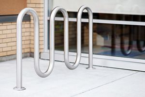 Bike racks by Reliance Foundry are not only good for promoting employee health and productivity but also for increasing revenue. http://www.reliance-foundry.com/bike-parking/bike-racks/r-8240-stainless-steel