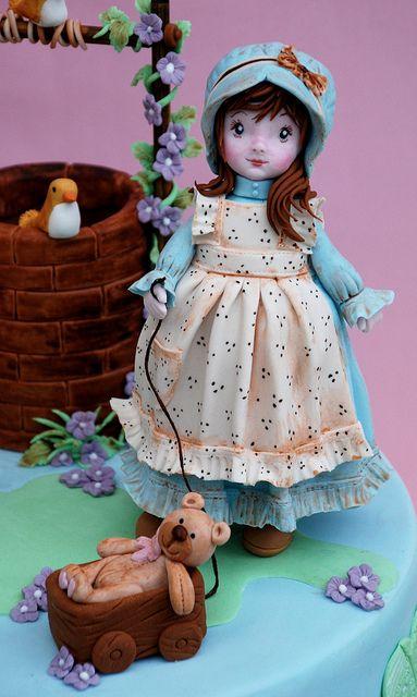 Sarah Kay Cake porcelana fria polymer clay pasta francesa masa flexible fimo modelling modelado figurine cake topper