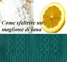 Come sfeltrire un maglione di lana? In questa mini guida troverete dei semplici metodi casalinghi o rimedi antichi e fai da te, sempre attuali ed economici.