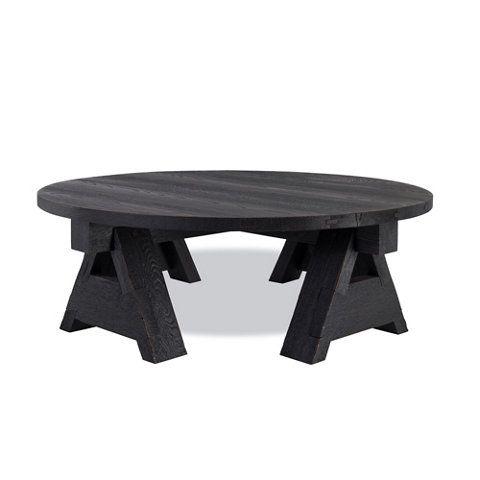 Limited Production Design U0026 Stock: Ralph Lauren A Frame Black Oak Coffee  Table * Sand Blasted Finish * 18 X 54 Inches * Partner Bedroom U0026 Living  Area ...