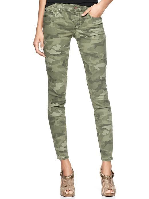 Gap | 1969 printed always skinny skimmer jeans