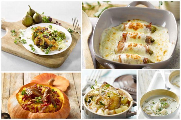 Bij de start van de herfst kijken we er al naar uit welk lekkers we dit seizoen op ons bord kunnen toveren. 5 gerechten die een heerlijke herfst inluiden!