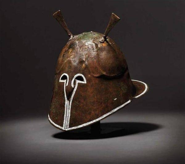 An Apulian Pseudo-Corinthian bronze helmet, 5th - 4th century B.C. © 2011 - 2015 Historica oHG Hermann