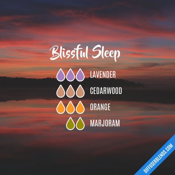Blissful Sleep - Essential Oil Diffuser Blend