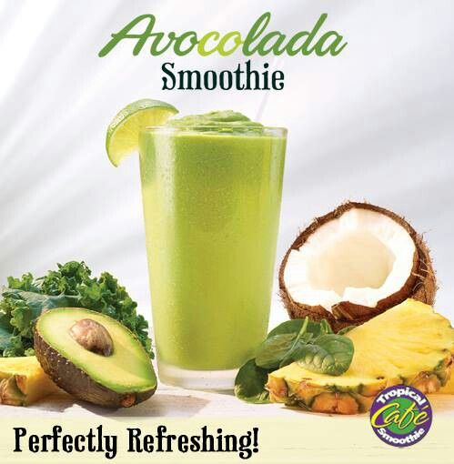 Tropical Smoothie Cafe Avocolada Recipe