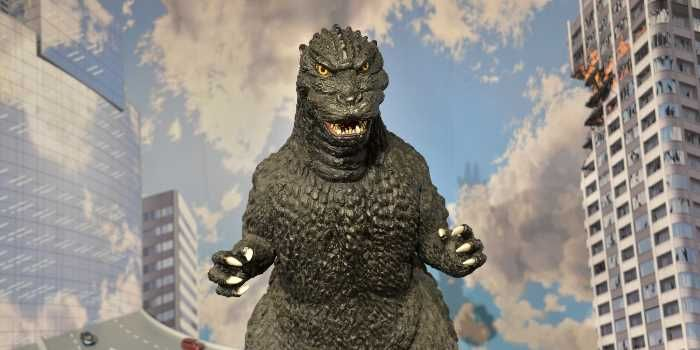 Can we calculate the pressure of the average Godzilla foot stomp?