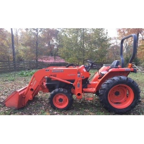 2008 KUBOTA L2800 For Sale In Dover, Tennessee 37058 | 2008