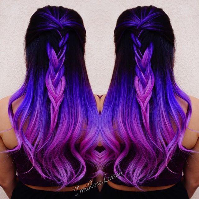 Best 25 Purple Hair Styles Ideas On Pinterest Purple Hair Colors Purple Hair And Purple Hair