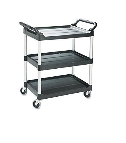 rubbermaid 342488bk utility cart w 4 india casters185 - Rubbermaid Utility Cart