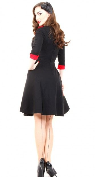 Rona Dress in Red