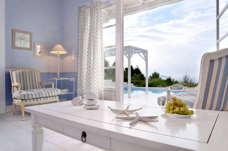 Holiday Villa in Sporades, Greece - Luxury sea view villa with private pool in Alonnisos