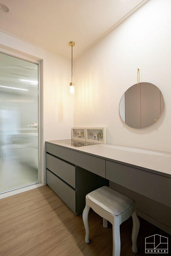 광교 스타클래스 44평 파우더룸 아파트인테리어 아파트인테리어디자인 광교인테리어 파우더룸인테리어