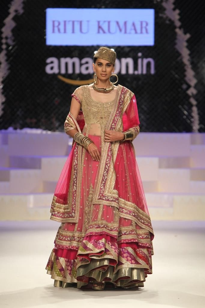 #AIFW #AW15 #AIFWAW15 #IndianFashion #25designers #25thEdition #RituKumar