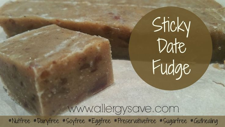 Sticky Date Fudge