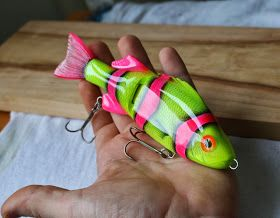 SolarFall baits: Some perch cranks to pike gliders