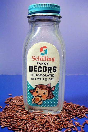 Fancy Decors: Decors Chocolate, Childhood Memories, Schilling Fancy, Fancy Decors, Vintage Things, Vintage Retro, Vintage Food, Chocolate Sprinkles, Photo