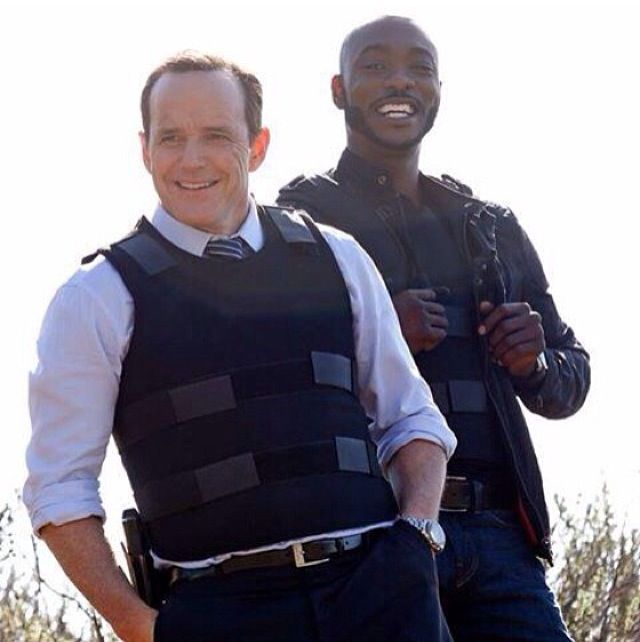 Agents of SHIELD | Director Coulson and Agent Triplett (: