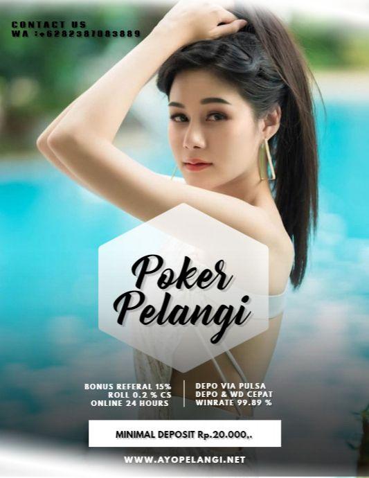 POKER PELANGI di 2020 | Poker, Pelangi