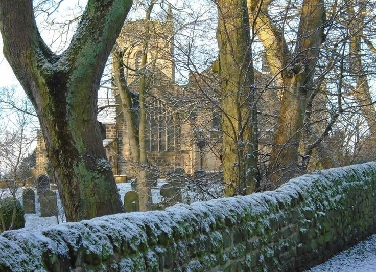 Treasure - Guiseley Church from old lane to Yeadon