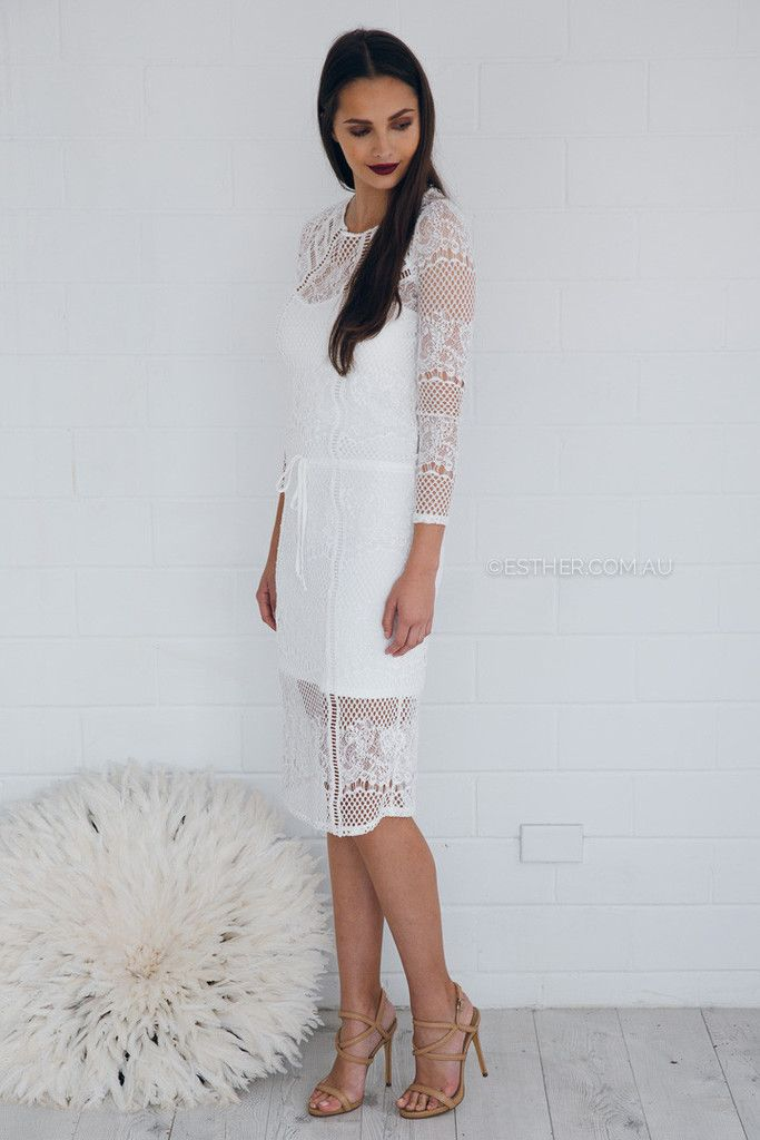 Ministry Of Style Nova Crocheted Dress - White – Esther Boutique