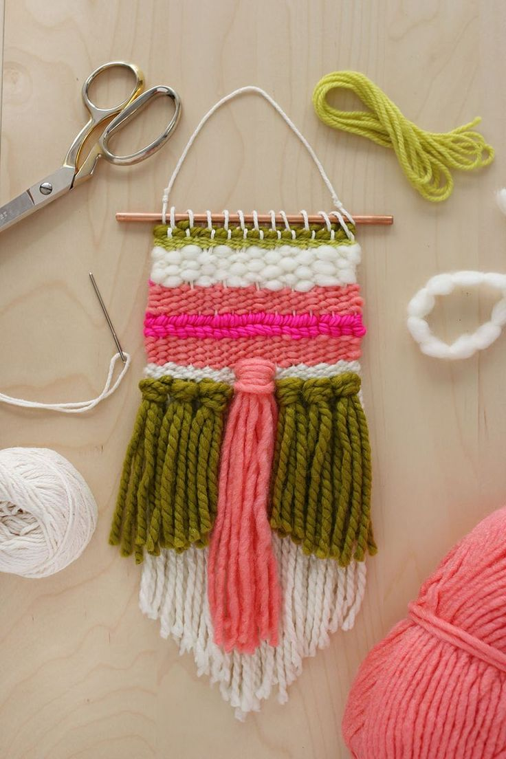 Easy #Weaving Tutorial #weaving #diy #tutorial #tissage