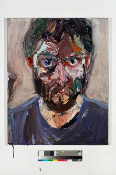 Ben Quilty - Self portrait after Rattle's Bucks