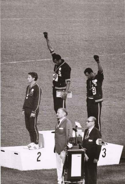 Black Power Salute 1968 Olympics Poster 24x36 – BananaRoad