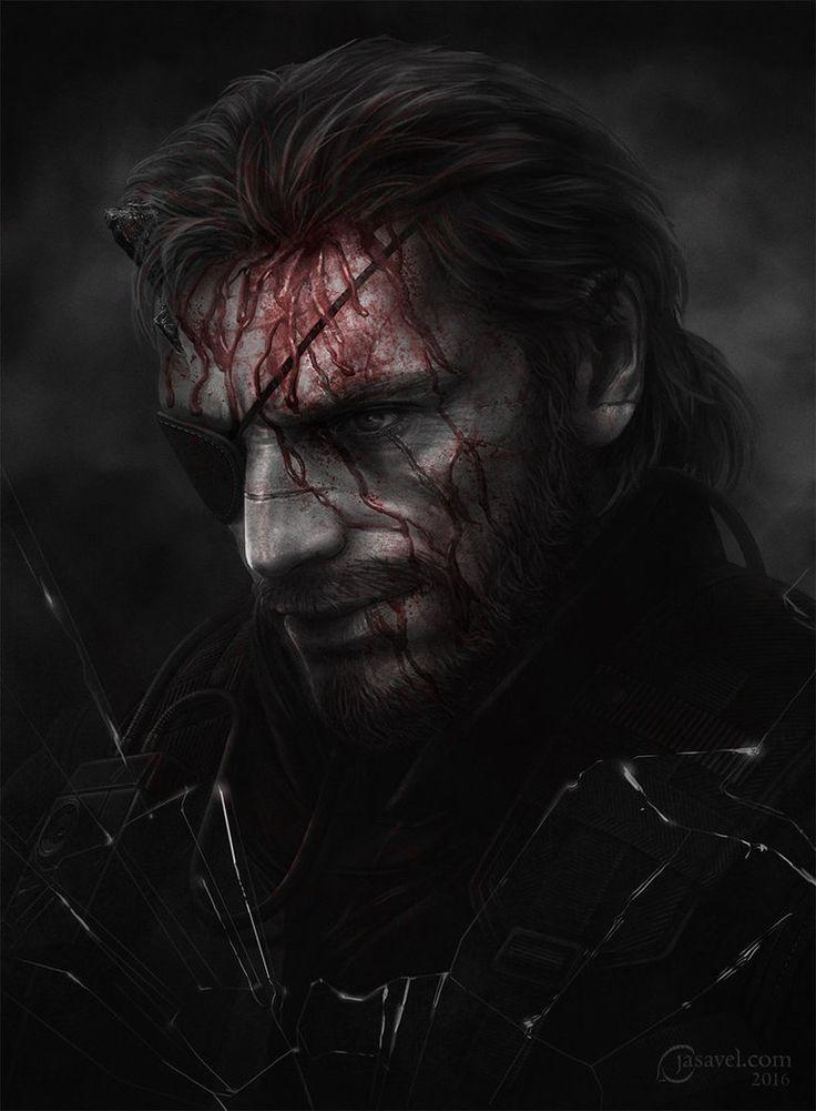 Metal Gear Solid V. The Phantom Pain fan art by jasavel