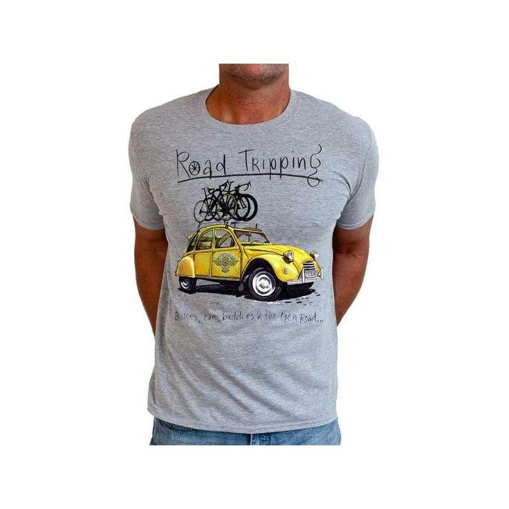 "Cycology Gear T-shirt ""Road Tripping II"""