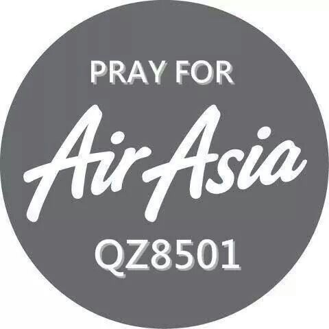 Please pray for the families and AirAsia QZ8501
