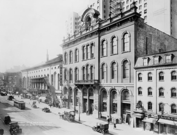 ๑ Nineteen Fourteen ๑  historical happenings, fashion, art & style from a century ago - Tammany Hall, New York, 1914