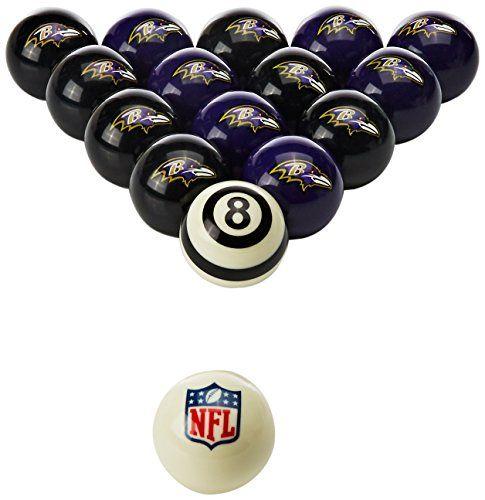 Baltimore Ravens Billiard Balls